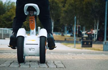 Одноколесный скутер своими руками 18