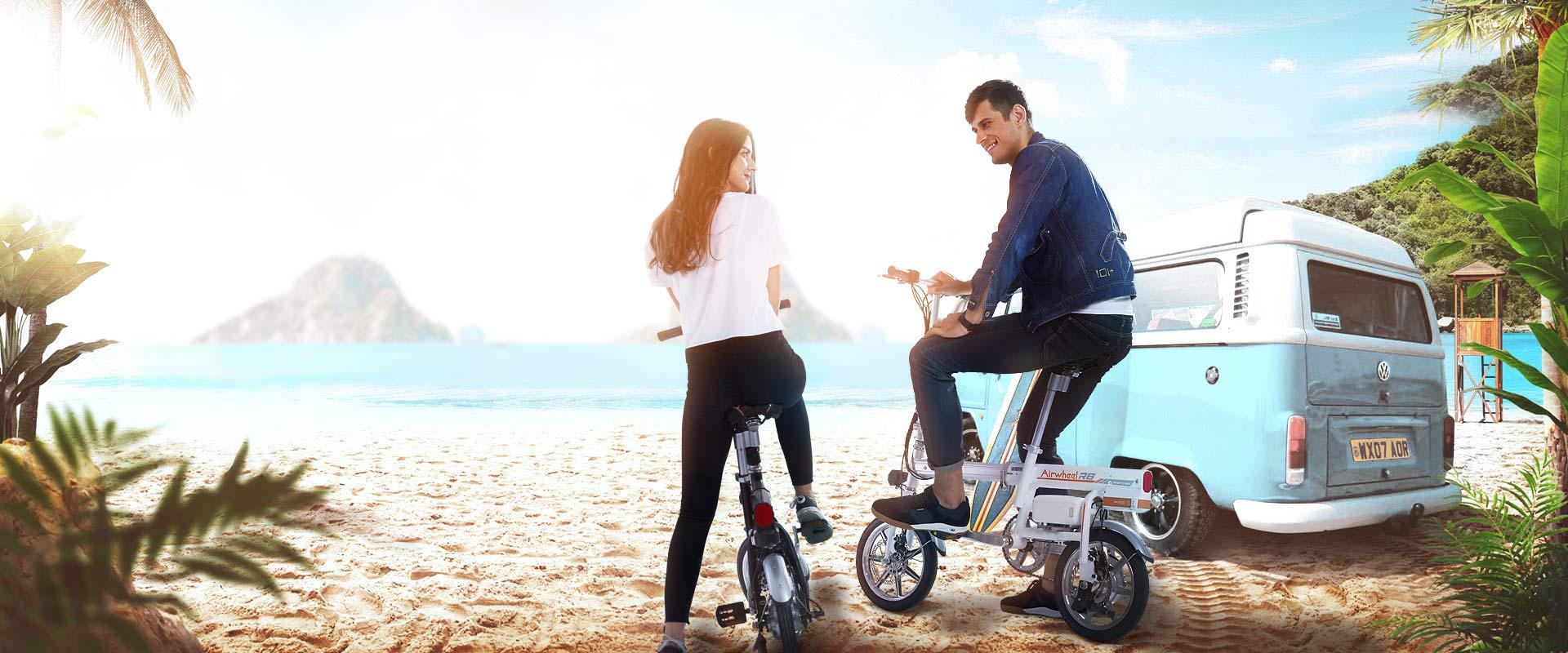 Airwheel R6 Умный электрический велосипед